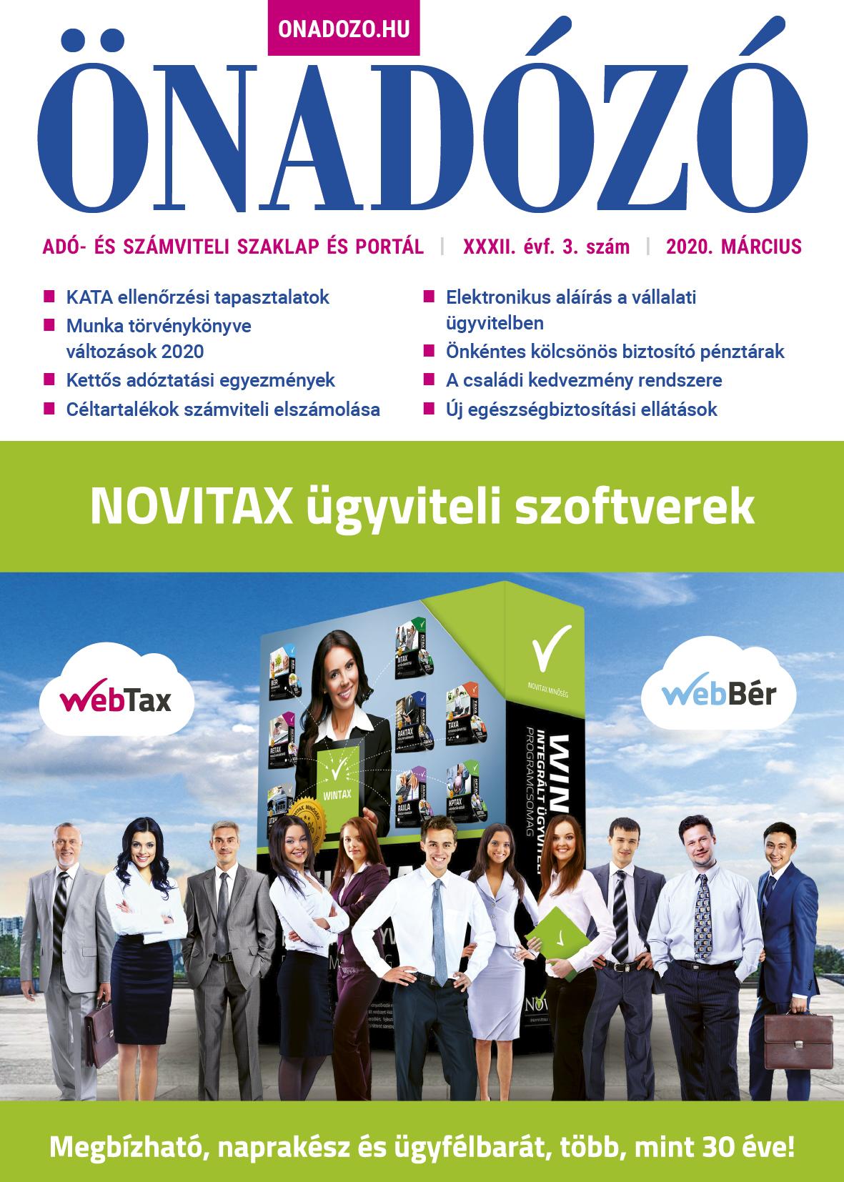 Önadózó 2020/03